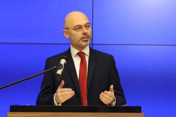 Minister klimatu Michał Kurtyka. Fot. Ministerstwo klimatu