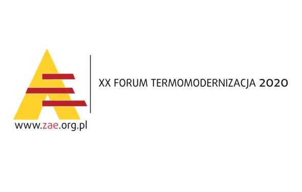 XX Forum Termomodernizacja 2020 – Patronat BiznesAlert.pl