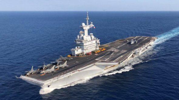 Lotniskowiec Charles de Gaulle Wikimedia Commons