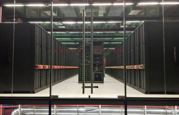Supercomputer superkomputer cyberprzestrzeń