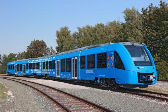 Pociąg wodorowy Alstom. Fot. Alstom