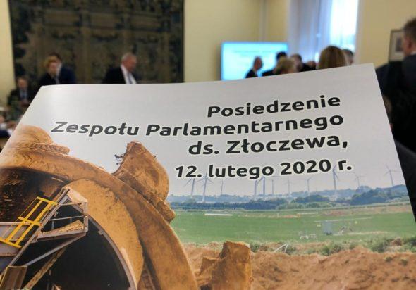 Posiedzenie sejmowego zespołu parlamentarnego do spraw Złoczewa Bartłomiej Sawicki BiznesAlertpl