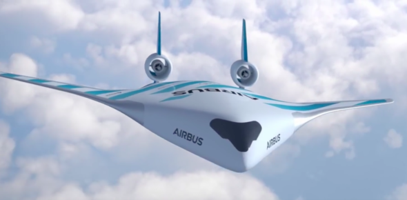 Prototyp samolotu Airbusa. Fot. The Independent:BiznesAlert.pl