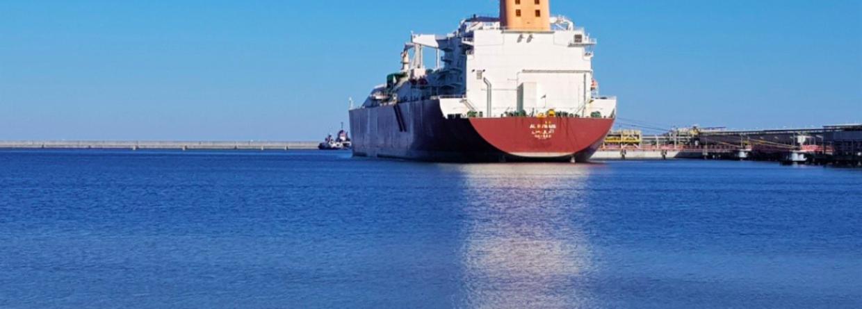 88. dostawa LNG do terminalu w Świnoujściu. Fot. Polskie LNG