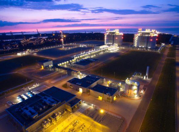 Terminal LNG. Fot.: Polskie LNG.
