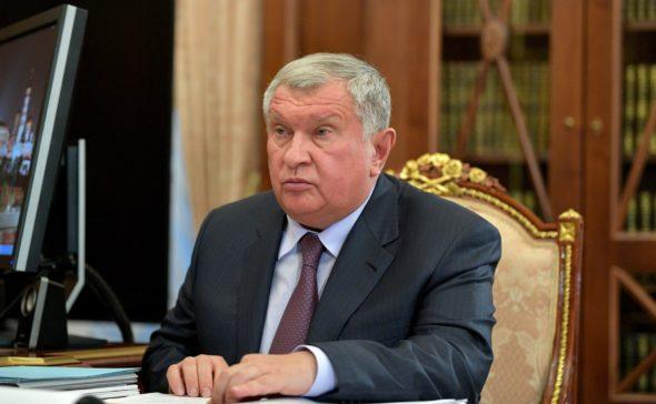 Prezes Rosnieft Igor Sieczin fot.Kremlin.ru