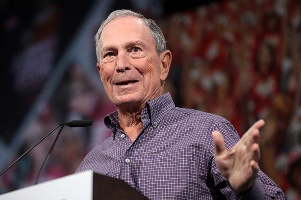 Michael Bloomberg. Źródło Wikicommons