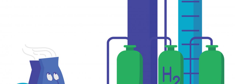 Fioletowy wodór. Grafika: Departament Energii USA