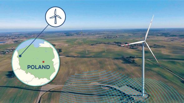 Farma wiatrowa RWE Renewables w Polsce