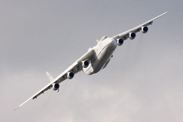 Antonow Mrija, największy samolot na świecie. Źródło Wikicommons
