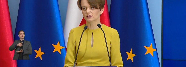 Minister rozwoju Jadwiga Emilewicz. Fot. KPRM