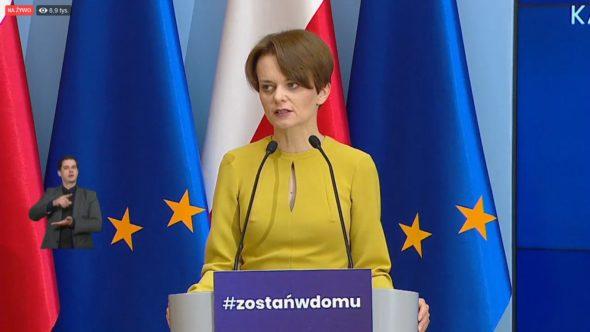 Jadwiga Emilewicz minister rozwoju