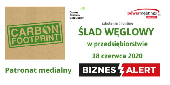 Ślad węglowy w przedsiębiorstwie – Patronat BiznesAlert.pl