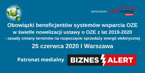 Obowiązki Beneficjentów systemów wsparcia OZE – Patronat BiznesAlert.pl