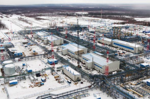Pole gazowe Czajadińskoje fot. Gazprom