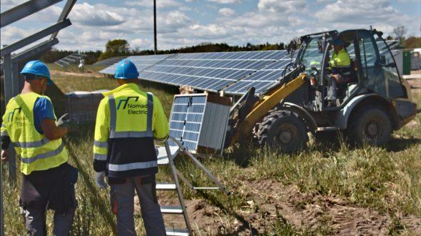 Instalacja elektrowni słonecznej