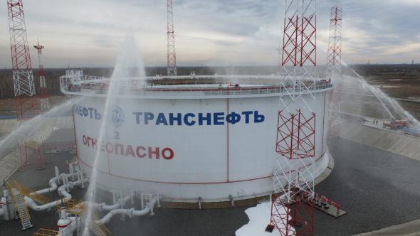 Ile ropy może zmagazynować Rosja?  fot. Transnieft Wostok