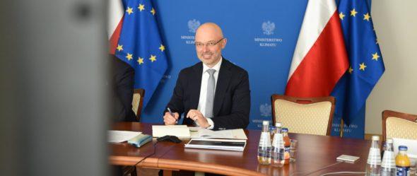 Minister Klimatu Michał Kurtyka. Fot.: Ministerstwo Klimatu