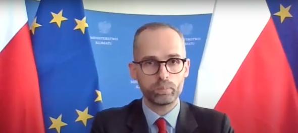 Adam Guibourge-Czetwertyński, wiceminister klimatu. Fot. BiznesAlert.pl