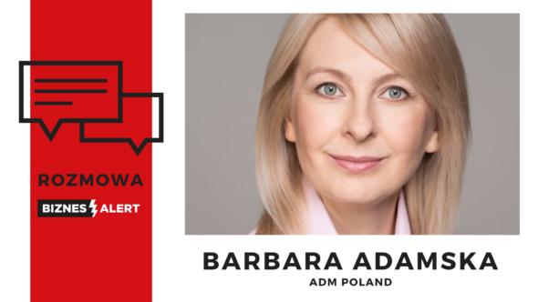Rozmowa BiznesAlert.pl. Barbara Adamska