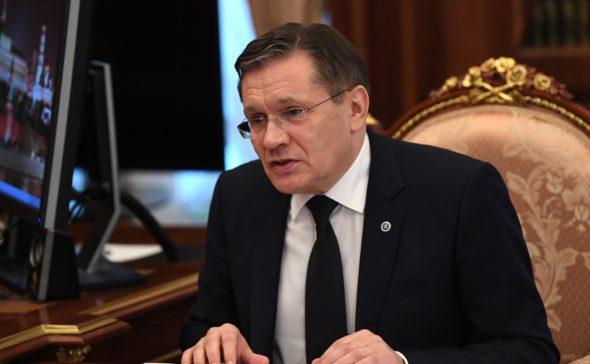 Szef Rosatom Aleksiej Lichaczow fot.kremlin.ru