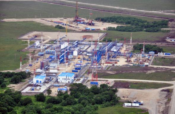 Pole gazowe Nieżnoje Kwakczyskoje na Kamczatce fot. Gazprom