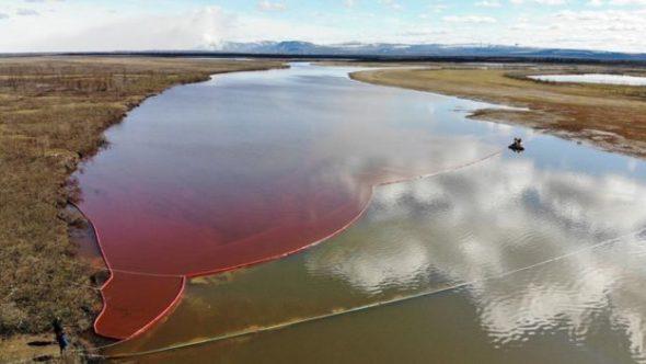 Rzeka Ambarnaja fot.AFP