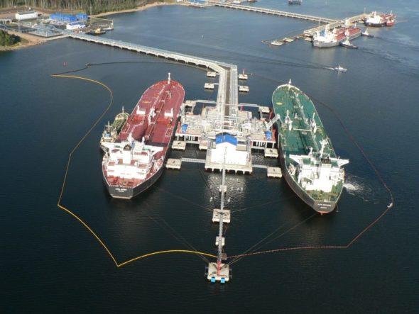 Terminal Primorsk  fot. Primorsk Oil Terminal