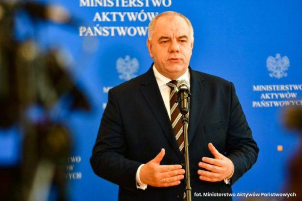 Wicepremier i minister aktywów państwowych Jacek Sasin. Foto: MAP