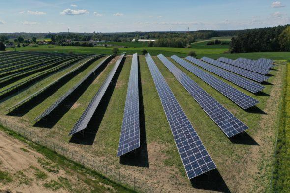 Elektrownia słoneczna fot. R.POWER