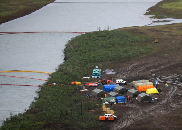 Akcja ratunkowa pod Norylskiem fot.M24.ru