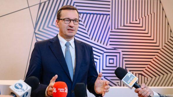 Mateusz Morawiecki, Premier RP. Fot. Kancelaria Premiera RP/Twitter