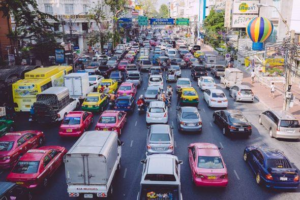 Korek w Bangkoku. Źródło Wallpaper flare