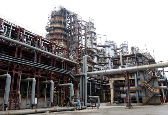 Rafineria Naftan w Nowopołocku fot.belarus.by