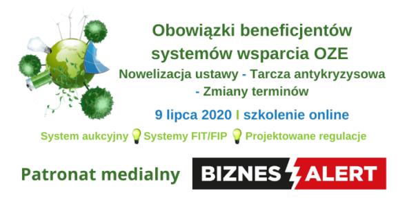 Obowiązki beneficjentów systemów wsparcia OZE