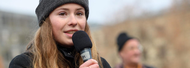 Luisa Neubauer z Fridays For Future. Źródło: Wikicommons