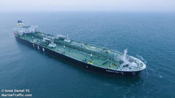 MARATHON TS fot.Marinetraffic