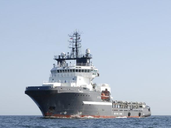 Statek zaopatrzeniowy Umka  fot. Morspas.ru