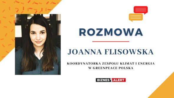 Joanna Flisowska. Grafika: BiznesAlert.pl