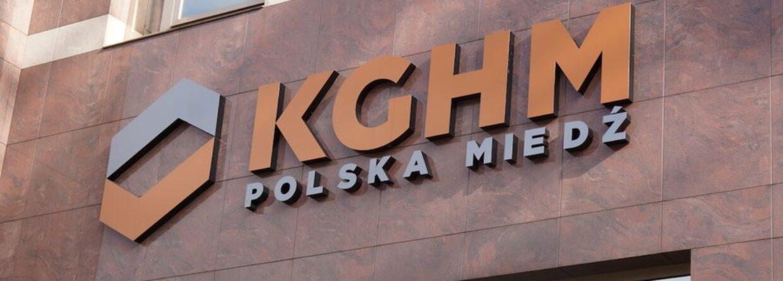 Logo KGHM. Fot.: KGHM