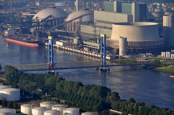 Elektrownia Moorburg. Źródło Wikicommons