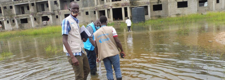Powódź w Sudanie Południowym. Fot. Polska Akcja Humanitarna