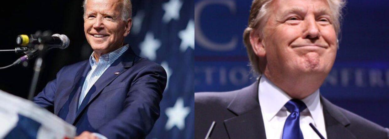 Donald Trump i Joe Biden. Grafika: Gabriela Cydejko