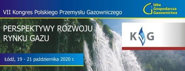 VII  Kongres Polskiego Przemysłu Gazowniczego. Grafika organizatora.