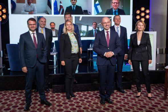 Podpisanie Deklaracji Bałtyckiej. Fot. Ministerstwo Klimatu