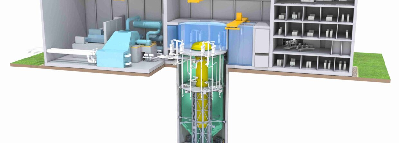 BWRX-300. Fot. GE Hitachi Nuclear Energy