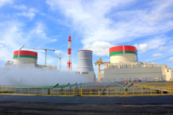 Białoruska Elektrownia Jądrowa w Ostrowcu fot.BelAES