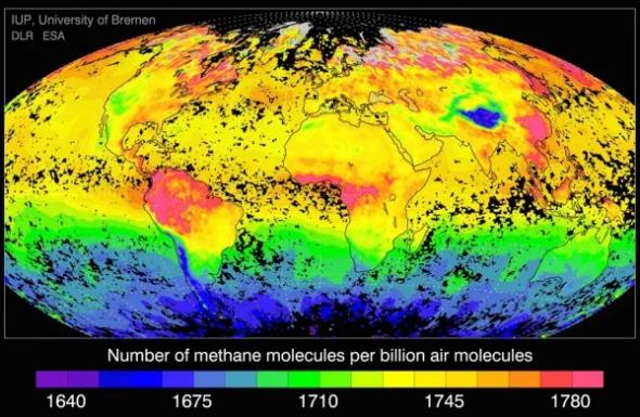 Emisje metanu