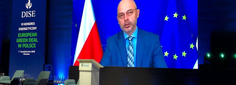 Michał Kurtyka minister klimatu. Fot.: Bartłomiej Sawicki/BiznesAlert.pl