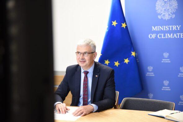 Ireneusz Zyska, sekretarz stanu w ministerstwie klimatu i pełnomocnik rządu ds. OZE. Fot. Ministerstwo klimatu i środowiska